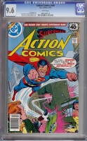 Action Comics #490 CGC 9.6 w