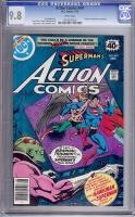 Action Comics #491 CGC 9.8 w
