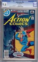 Action Comics #493 CGC 9.6 w