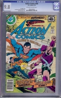 Action Comics #495 CGC 9.8 ow/w