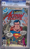 Action Comics #496 CGC 9.8 w Rocky Mountain