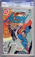 Action Comics #497 CGC 9.6 w