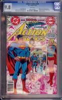 Action Comics #500 CGC 9.8 w