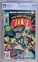 Nova #1 CBCS 9.8 ow/w