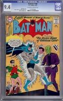 Batman #160 CGC 9.4 ow/w