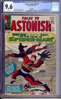 Tales to Astonish #57 CGC 9.6 w Pacific Coast