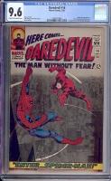 Daredevil #16 CGC 9.6 cr/ow