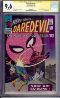 Daredevil #17 CGC 9.6 w CGC Signature SERIES