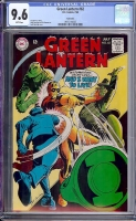 Green Lantern #62 CGC 9.6 w Twin Cities