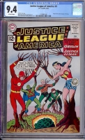 Justice League of America #9 CGC 9.4 ow