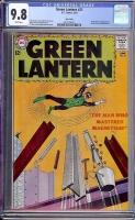 Green Lantern #21 CGC 9.8 w Twin Cities