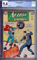 Action Comics #341 CGC 9.4 ow/w Bogota