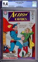Action Comics #354 CGC 9.4 ow/w