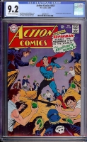 Action Comics #357 CGC 9.2 ow/w Bogota