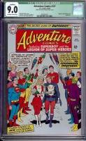 Adventure Comics #337 CGC 9.0 ow/w Bogota