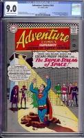 Adventure Comics #344 CGC 9.0 ow/w