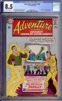 Adventure Comics #348 CGC 8.5 ow/w