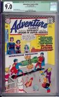 Adventure Comics #356 CGC 9.0 ow/w Bogota