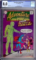 Adventure Comics #357 CGC 8.0 w