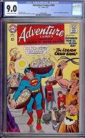 Adventure Comics #360 CGC 9.0 ow/w