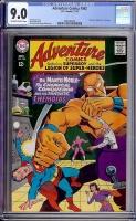 Adventure Comics #362 CGC 9.0 ow/w