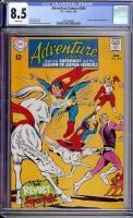 Adventure Comics #364 CGC 8.5 w Bogota