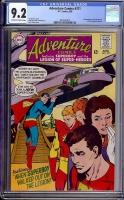 Adventure Comics #371 CGC 9.2 ow/w