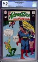 Adventure Comics #377 CGC 9.2 ow/w