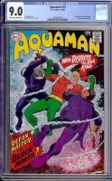 Aquaman #35 CGC 9.0 ow/w Bogota