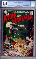 Atom and Hawkman #43 CGC 9.4 ow/w Bogota