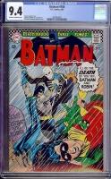 Batman #180 CGC 9.4 ow/w