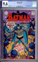 Batman #201 CGC 9.6 ow/w Bogota