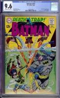 Batman #207 CGC 9.6 ow/w