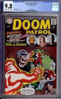 Doom Patrol #110 CGC 9.8 ow/w Bogota