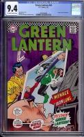 Green Lantern #54 CGC 9.4 ow/w