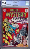 House of Mystery #152 CGC 9.4 ow/w