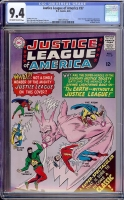 Justice League of America #37 CGC 9.4 ow/w