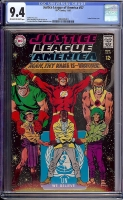 Justice League of America #57 CGC 9.4 ow/w