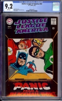 Justice League of America #62 CGC 9.2 w