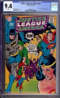 Justice League of America #66 CGC 9.4 w