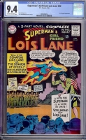Superman's Girlfriend Lois Lane #62 CGC 9.4 ow/w