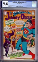 Superman's Pal Jimmy Olsen #118 CGC 9.4 ow/w