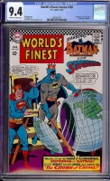 World's Finest Comics #165 CGC 9.4 ow/w