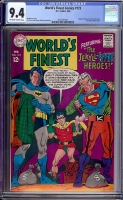 World's Finest Comics #173 CGC 9.4 ow/w Bogota