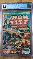 Iron Fist #1 CGC 8.5 w