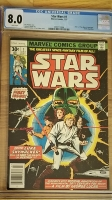 Star Wars #1 CGC 8.0 w