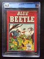 Blue Beetle #17 CGC 6.5 ow