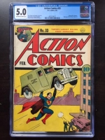 Action Comics #33 CGC 5.0 ow/w