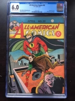 All-American Comics #25 CGC 6.0 cr/ow