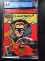 All-American Comics #27 CGC 8.5 ow/w Cosmic Aeroplane